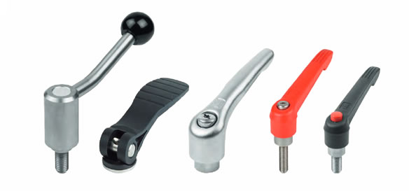 Clamping Levers, Tension Levers, Cam Levers | Maxiloc Tooling | Kipp Operating Parts