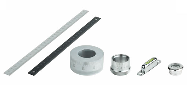 Scales, Scale Rings, Level Vials | Maxiloc Tooling | Kipp Operating Parts