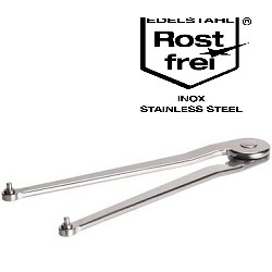 AMF Adjustable pin wrench stainless steel 758NI