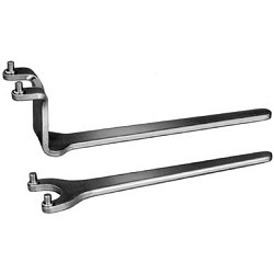 AMF Wrench for 2 hole nuts DIN 3116