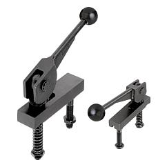K0011 Kipp cam clamps, double