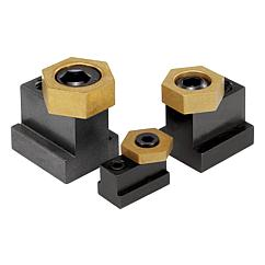 K0027 Kipp cam screws with hexagon washer, for T-slots