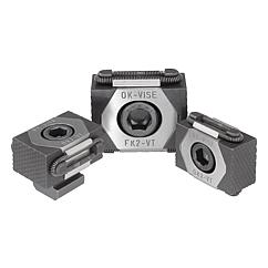 K0040 Kipp wedge clamps, jaw faces serrated