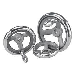 K0160 Kipp handwheels DIN 950, aluminium