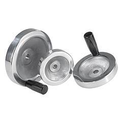 K0161 Kipp handwheels disc aluminium