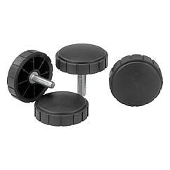 K0281 Kipp Knurled screws
