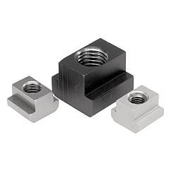 K0377 Kipp T-Slot nuts (Nuts for T-slots) DIN 508