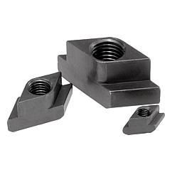 K0379 Kipp Nuts for T-slots rhombic form