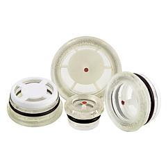 K0446 kipp oil level sight glasses, press-in