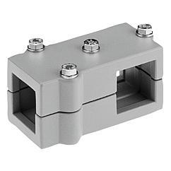 K0476 Kipp tube clamps T-angle aluminium
