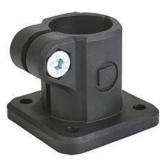 K0477 Kipp tube clamps, base, plastic