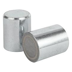 K0546 Kipp magnets deep pot AlNiCo without fitting tolerance