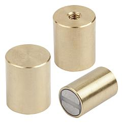 K0551 Kipp magnets deep pot SmCo