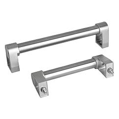K0652 Kipp tubular handles stainless steel
