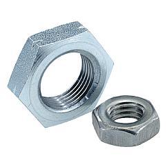 K0700 Kipp Hexagon nuts thin DIN 439