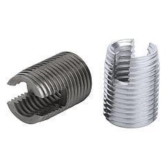 K0978 Kipp Threaded inserts self-tapping with cutting slot