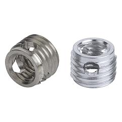 K0979 Kipp Threaded inserts self-tapping with cutting bores
