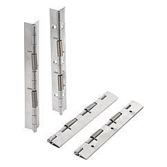 K1176 Kipp spring hinges steel or stainless steel, 180 mm