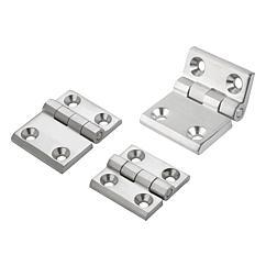 K1341 Kipp hinges stainless steel