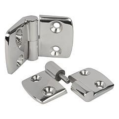 K1345 Kipp hinges lift-off stainless steel