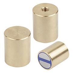 K1395 Kipp magnets deep pot NdFeB