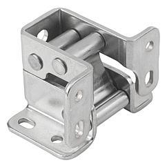 K1447 Kipp hinges steel or stainless steel internal, opening angle 90°