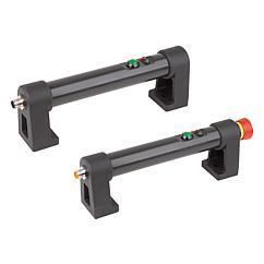 K1529 Kipp tubular handles, plastic with electronic switch function