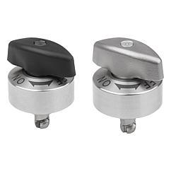 K1559 Kipp quarter-turn clamp locks stainless steel