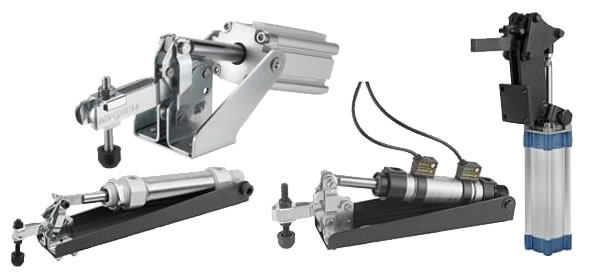 Pneumatic Toggle Clamps