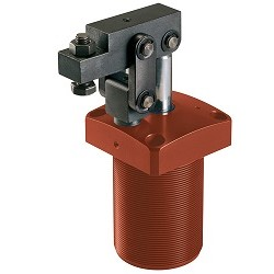 AMF Link Clamp, pneumatic, flange-mounting version 6829V