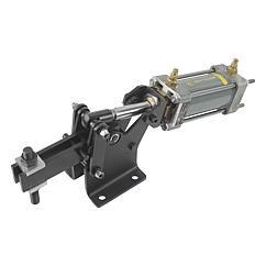 K0092 Kipp Pneumatic clamps horizontal heavy-duty version
