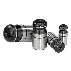 K0350 Kipp Locating pins with ball-end Form A