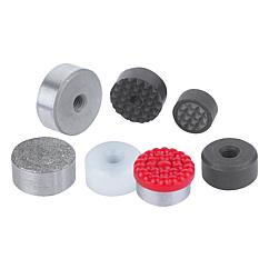 K0385 Kipp grippers and inserts round