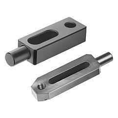 K0834 Kipp Clamp straps pin-end
