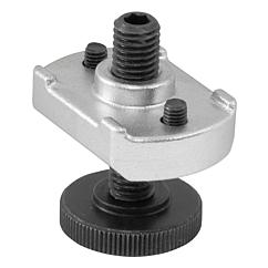 K1204 Kipp Adjustable heel supports for clamp strap assembly