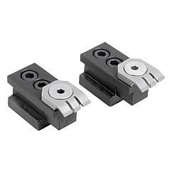 K1540 KIPP Flat clamp, steel for T-slot
