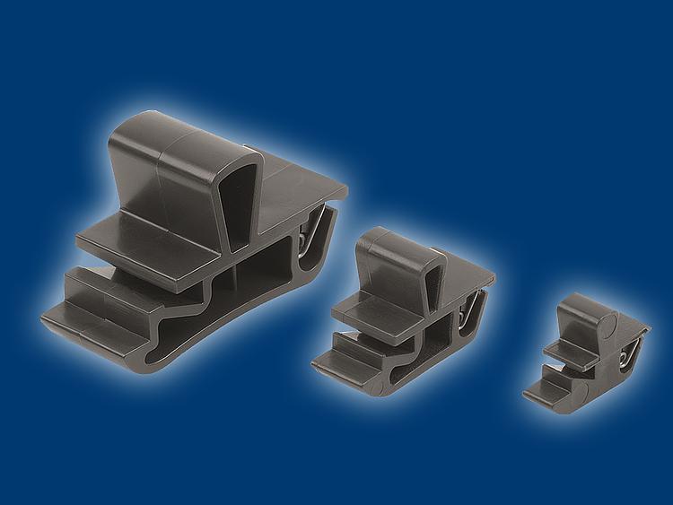 Kipp Plastic snap-in snap locks with grip - K1652