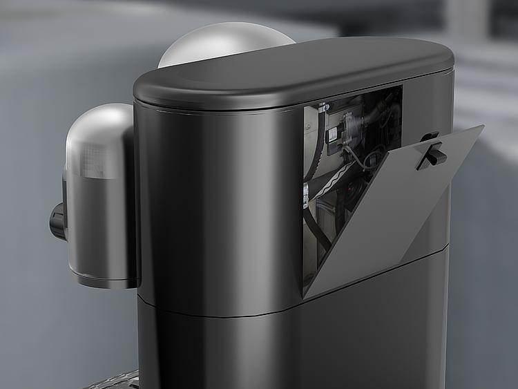 Kipp Snap locks for secure latching, safe locking of maintenance flaps