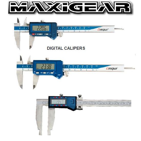 MaxiGear Digital Calipers CE150LS54 CE200LS54 CE300LS54
