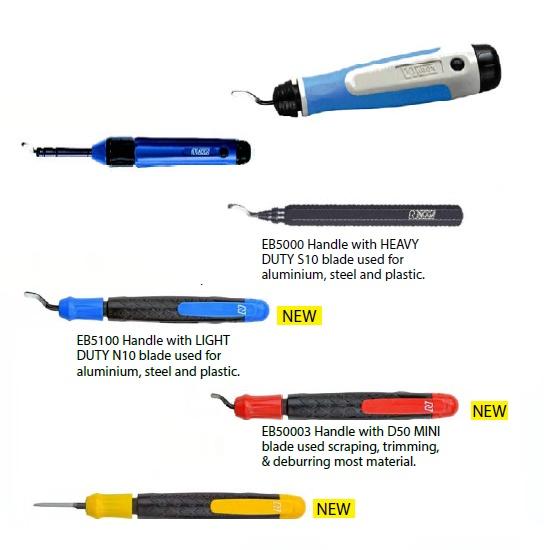 Noga Deburring Tools - Handles