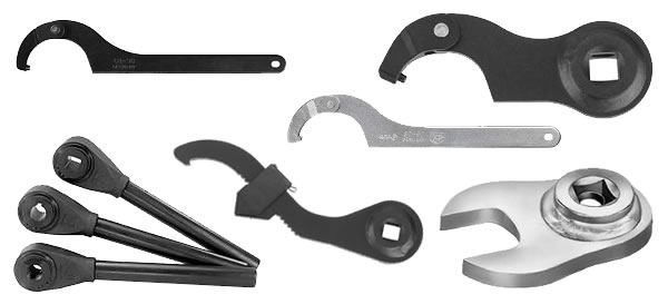 Hook Wrenches - C Spanners