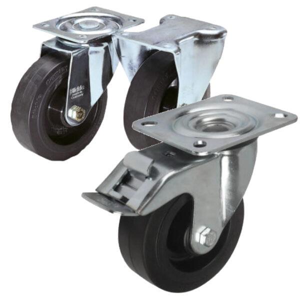 K1762 Kipp Swivel and fixed castors standard version