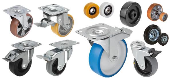 Kipp Castors, wheels, rollers