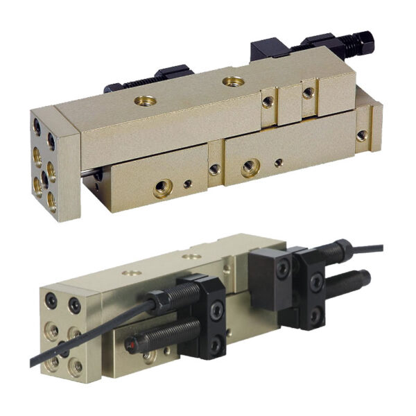 Norelem 20032 Linear modules pneumatic with rail guide