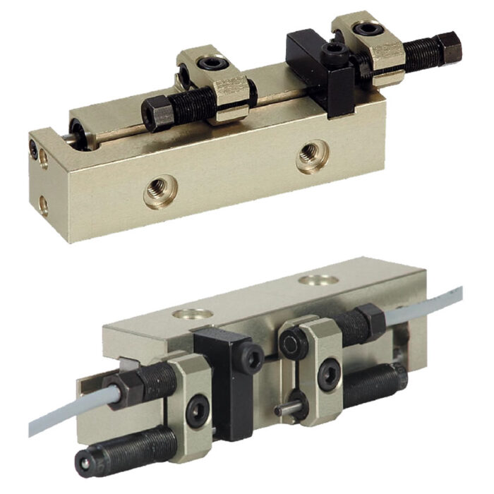 Norelem 20030 Linear modules pneumatic with rail guide