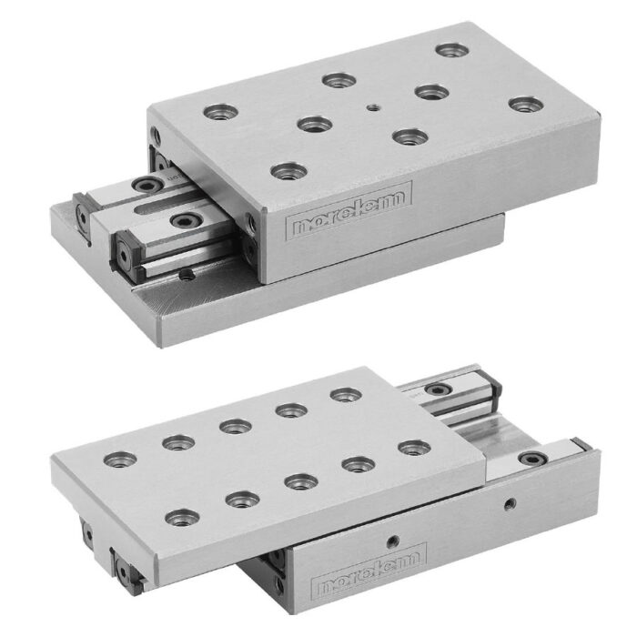 Norelem 21064 Precision slides roller mounted with location holes